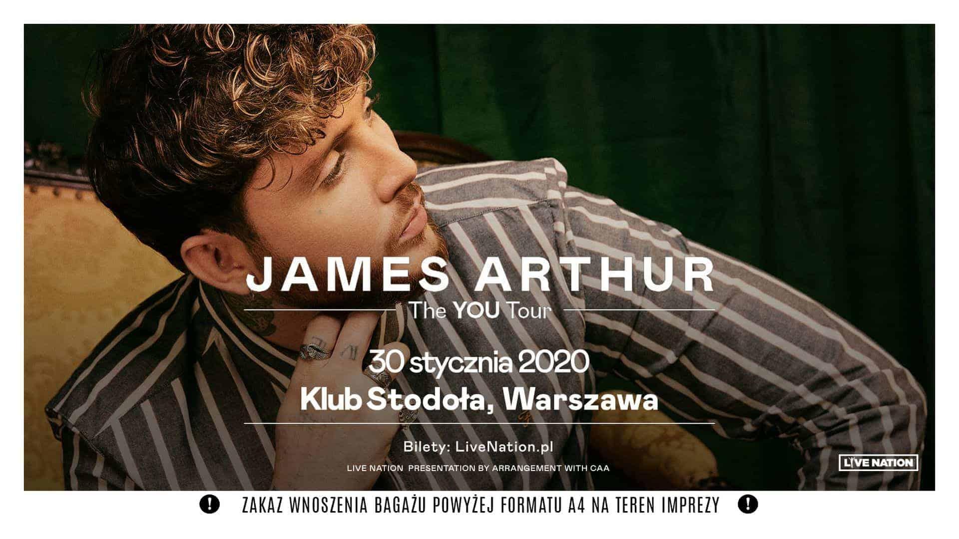 James Arthur в Варшаве