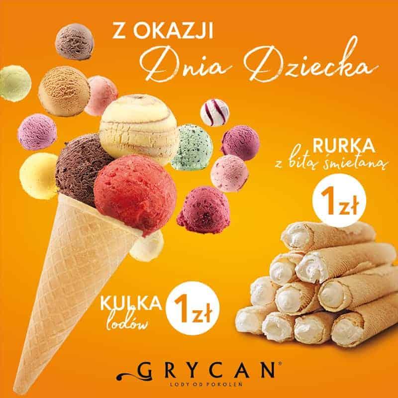 Мороженое за 1 злотый в День детей