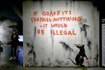 В Варшаве пройдёт выставка Бэнкси –самого известного уличного художника в мире